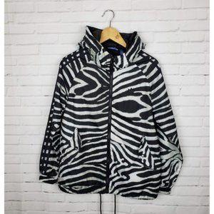 Adidas Animal Print Track Windbreaker Jacket